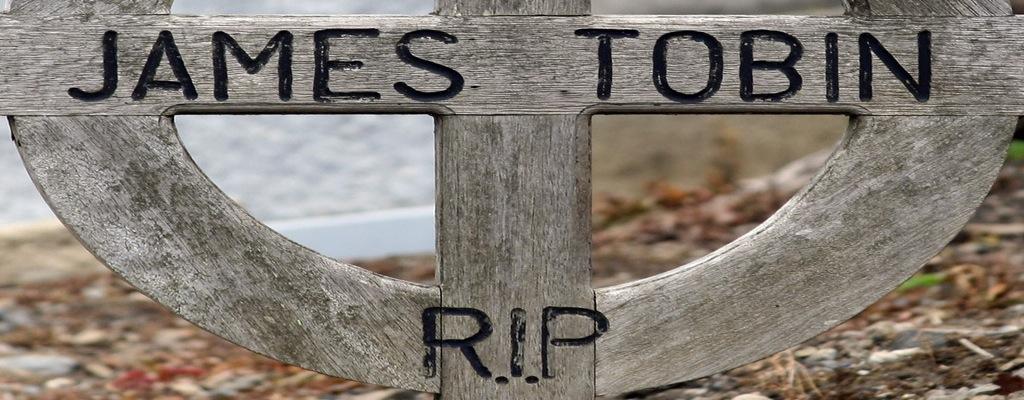 James Tobin RIP-